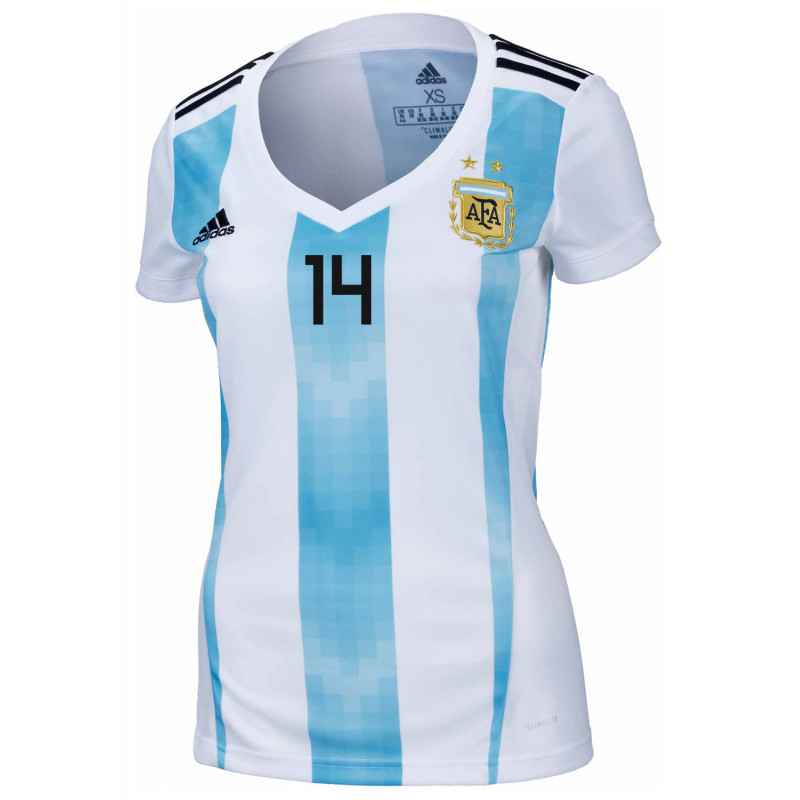 a0d3776eb ... Argentina Official Women s Home Soccer Jersey World Cup Russia 2018  Simeone  14