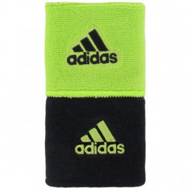 ADIDAS REVERSIBLE WRISTBAND BLACK/LIME