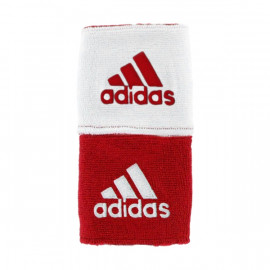 ADIDAS REVERSIBLE WRISTBAND RED/WHITE