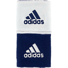 ADIDAS REVERSIBLE WRISTBAND NAVY BLUE/WHITE
