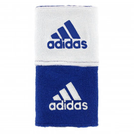 ADIDAS REVERSIBLE WRISTBAND ROYAL BLUE/WHITE