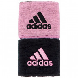 ADIDAS REVERSIBLE WRISTBAND BLACK/LIGHT PINK