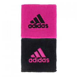 ADIDAS REVERSIBLE WRISTBAND LIGHT PINK/BLACK