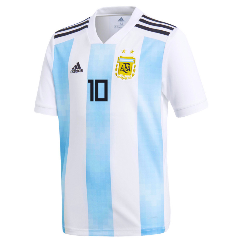 sneakers for cheap 7f3cf a7664 Argentina Official Youth Home Soccer Jersey World Cup Russia ...