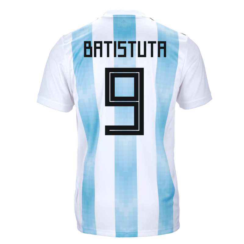 fcd7ff580 Argentina Official Youth Home Soccer Jersey World Cup Russia 2018 Batistuta   9