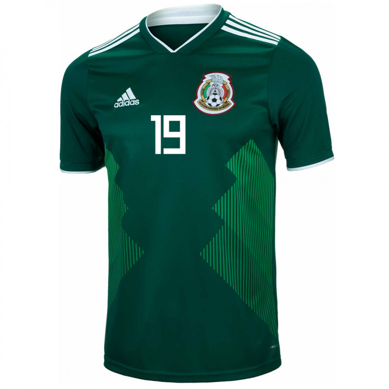MEXICO YOUTH HOME JERSEY WORLD CUP RUSSIA 2018 (O. PERALTA #19)