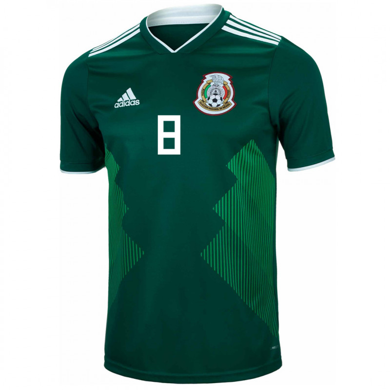 MEXICO YOUTH HOME JERSEY WORLD CUP RUSSIA 2018 (P. PARDO #8)