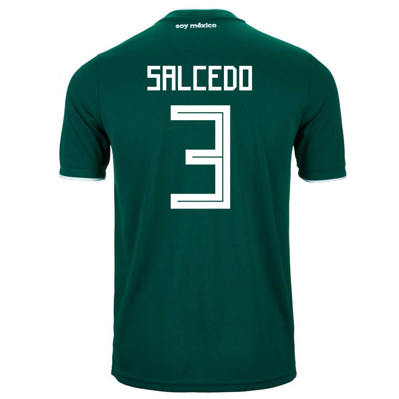 MEXICO YOUTH HOME JERSEY WORLD CUP RUSSIA 2018 (SALCEDO #3)