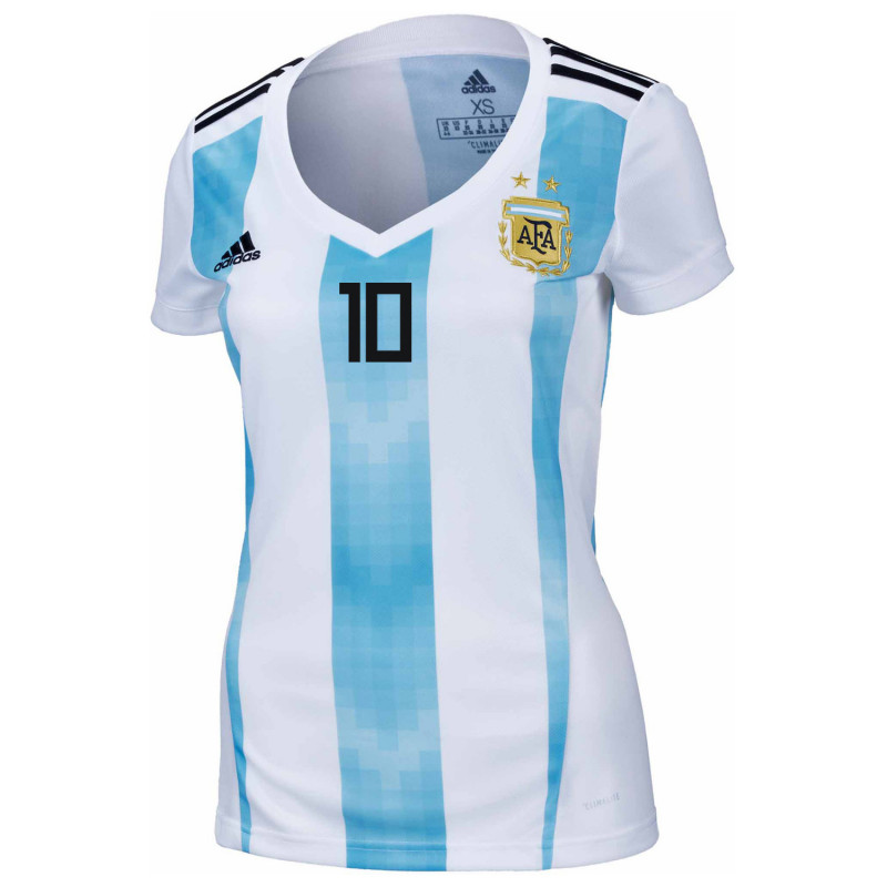 57669f54c ... Argentina Official Women s Home Soccer Jersey World Cup Russia 2018  Maradona  10