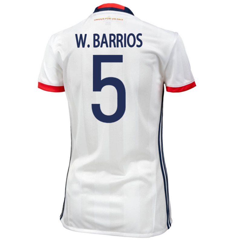 df82c3dcc COLOMBIA HOME WOMEN S JERSEY 2015 W. BARRIOS  5