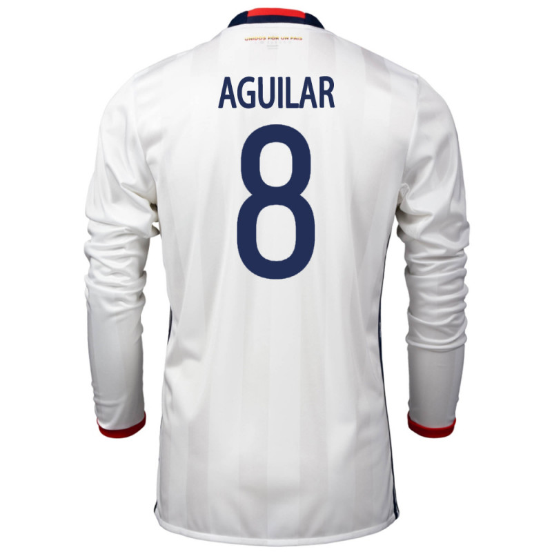 c4c6a58d3 COLOMBIA MEN S LONG SLEEVE HOME JERSEY 2015 AGUILAR  8