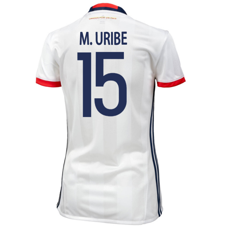 COLOMBIA HOME WOMEN'S JERSEY 2015 M. URIBE #15