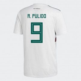 c6dc910122f MEXICO YOUTH AWAY JERSEY WORLD CUP RUSSIA 2018 (A. PULIDO #9)