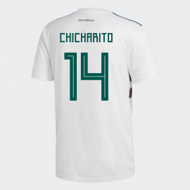 873cf7afbf1 MEXICO YOUTH AWAY JERSEY WORLD CUP RUSSIA 2018 (CHICHARITO #14)