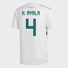 MEXICO YOUTH AWAY JERSEY WORLD CUP RUSSIA 2018 (H. AYALA  4) 8549341d7