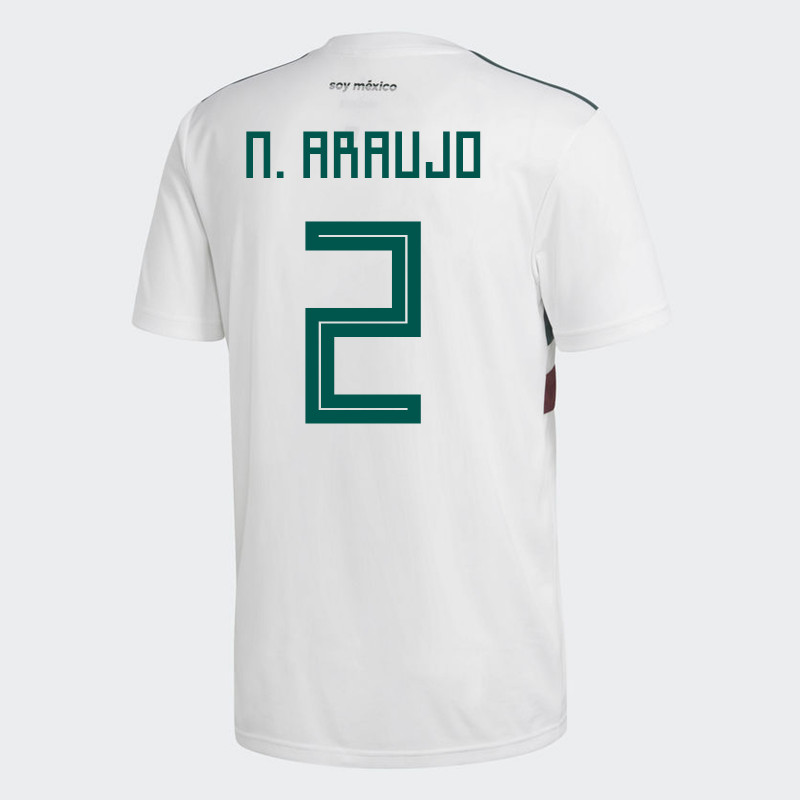 more photos ca8ca 23aff australia mexico 2 araujo away long sleeves soccer country ...
