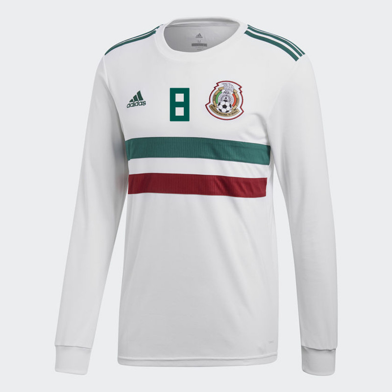 wholesale dealer 3a842 6e4a9 MEXICO MEN'S AWAY LONG SLEEVE JERSEY WORLD CUP RUSSIA 2018 H ...