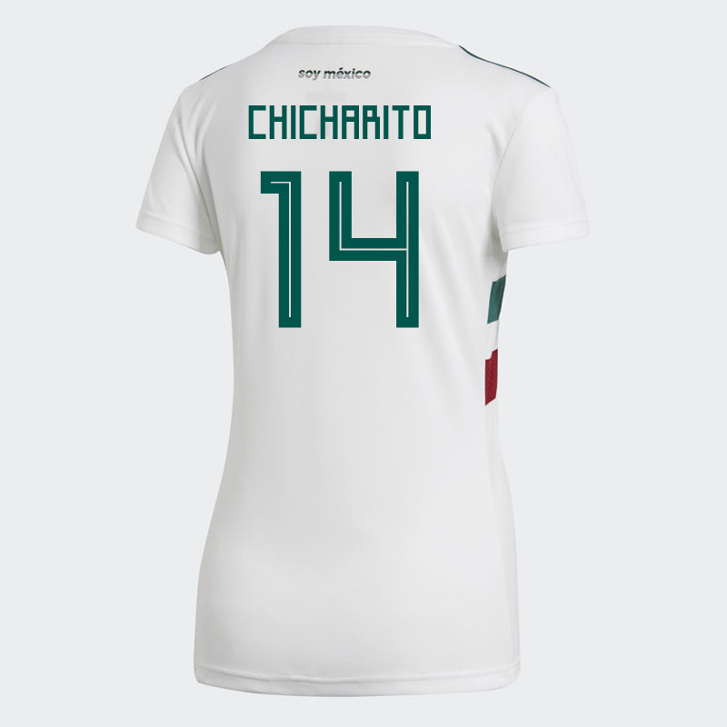 best website 2af7d bf78f MEXICO WOMEN'S AWAY JERSEY WORLD CUP RUSSIA 2018 CHICHARITO #14