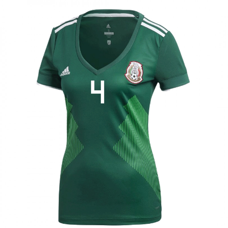 MEXICO WOMEN'S HOME JERSEY WORLD CUP RUSSIA 2018 (H. AYALA #4)