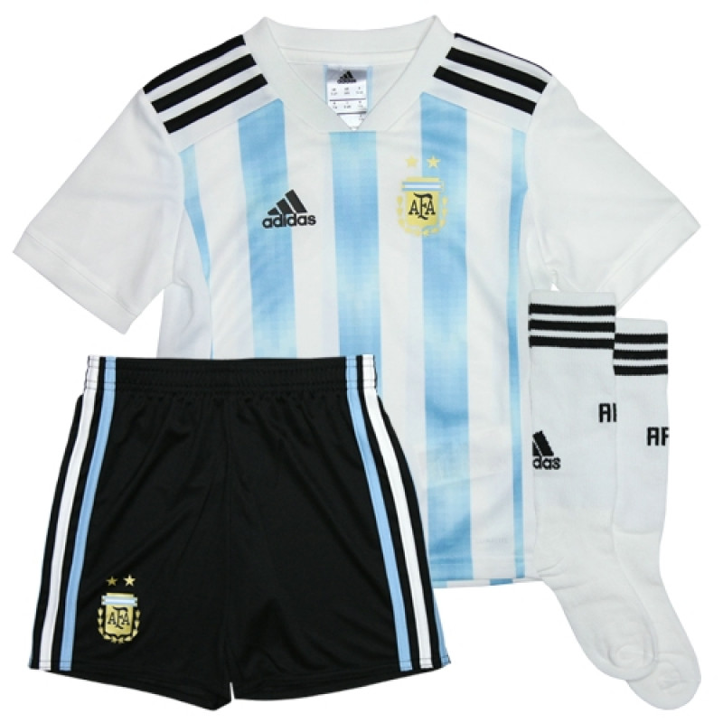 162368d35 ARGENTINA KID S HOME MINI KIT WORLD CUP RUSSIA 2018