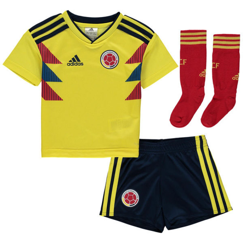 COLOMBIA KID S HOME MINI KIT WORLD CUP RUSSIA 2018 54f546457