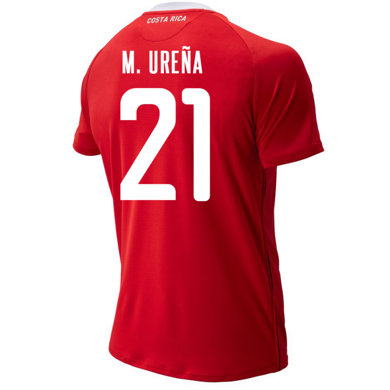 COSTA RICA MEN'S HOME JERSEY WORLD CUP RUSSIA 2018 M. URENA #21