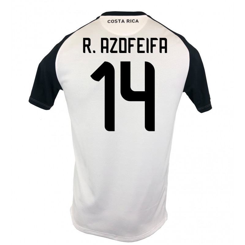 COSTA RICA MENS AWAY JERSEY WORLD CUP RUSSIA 2018 R. AZOFEIFA #14