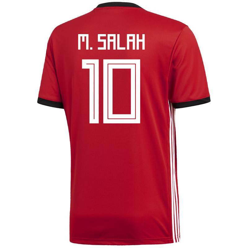 4fcac549d EGYPT MEN S HOME JERSEY WORLD CUP RUSSIA 2018 M. SALAH  10