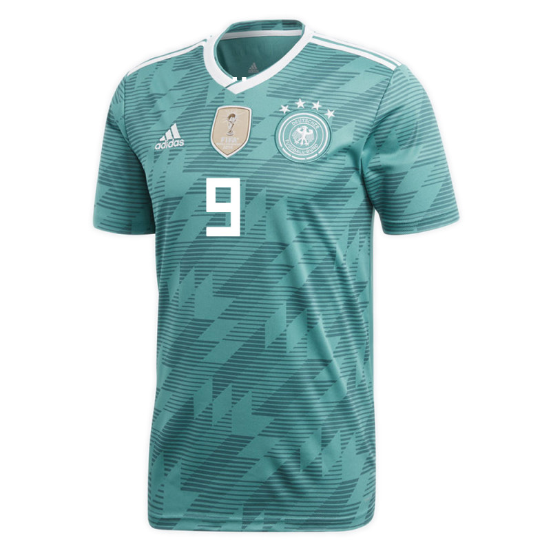 reputable site 8e516 d76bc GERMANY OFFICIAL MEN'S AWAY SOCCER JERSEY WORLD CUP RUSSIA ...