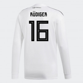 a52e064ad GERMANY OFFICIAL MEN S HOME LONG SLEEVE SOCCER JERSEY WORLD CUP RUSSIA 2018  RUDIGER  16