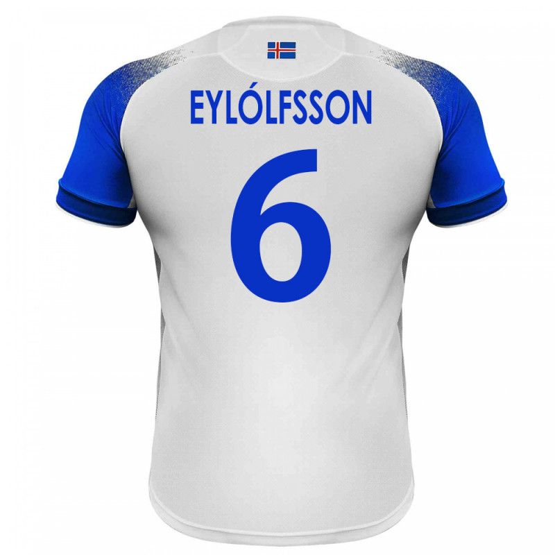 huge selection of 59b39 209cd ICELAND MEN'S AWAY JERSEY WORLD CUP RUSSIA 2018 EYLOLFSSON #6