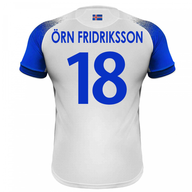 3a260ae53 ICELAND MEN S AWAY JERSEY WORLD CUP RUSSIA 2018 ORN FRIDRIKSSON  18