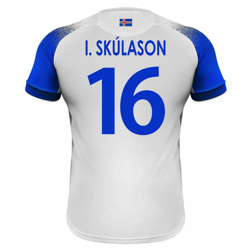 0055ee6d22c ICELAND MEN'S AWAY JERSEY WORLD CUP RUSSIA 2018 I. SKULASON #16