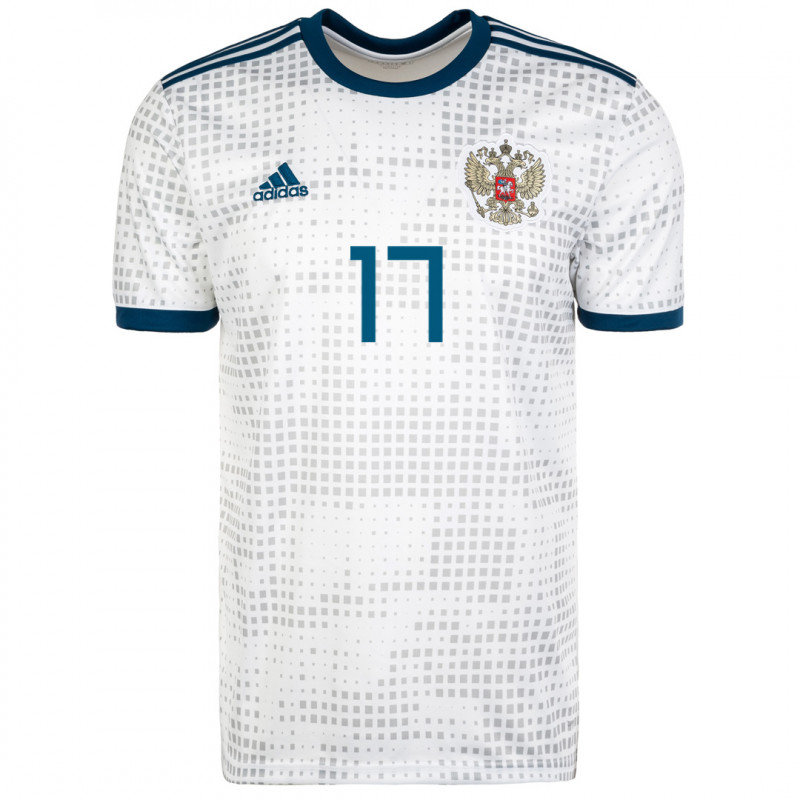 RUSSIA MEN'S AWAY JERSEY WORLD CUP RUSSIA 2018 GOLOVIN #8
