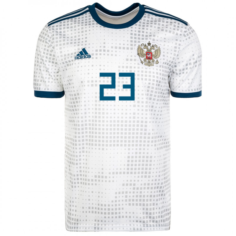 RUSSIA MEN'S AWAY JERSEY WORLD CUP RUSSIA 2018 KOMBAROV #23