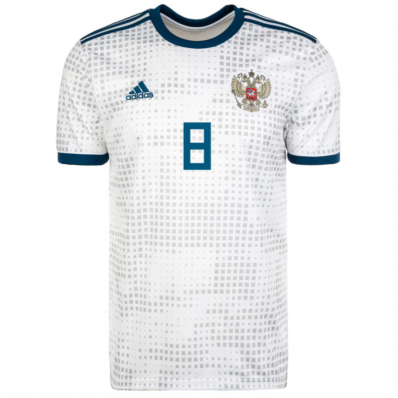 RUSSIA MEN'S AWAY JERSEY WORLD CUP RUSSIA 2018 GLUSHAKOV #8