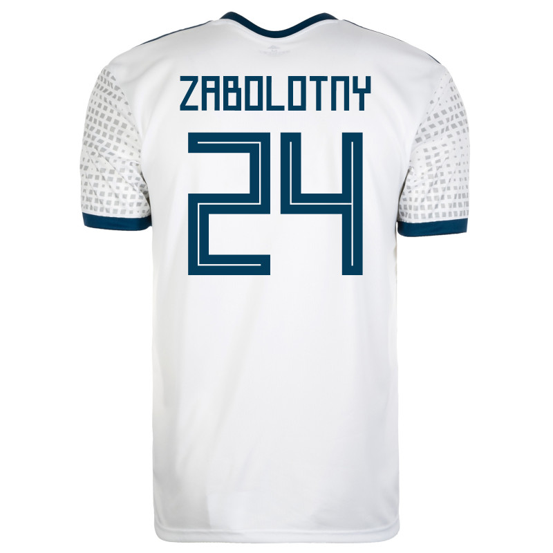 RUSSIA MEN'S AWAY JERSEY WORLD CUP RUSSIA 2018 ZABOLOTNY #24