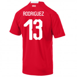RODRIGUEZ #13 SWITZERLAND MEN'S HOME JERSEY WORLD CUP RUSSIA 2018