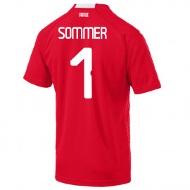 SOMMER #1 SWITZERLAND MEN'S HOME JERSEY WORLD CUP RUSSIA 2018