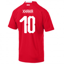 XHAKA #10 SWITZERLAND MEN'S HOME JERSEY WORLD CUP RUSSIA 2018