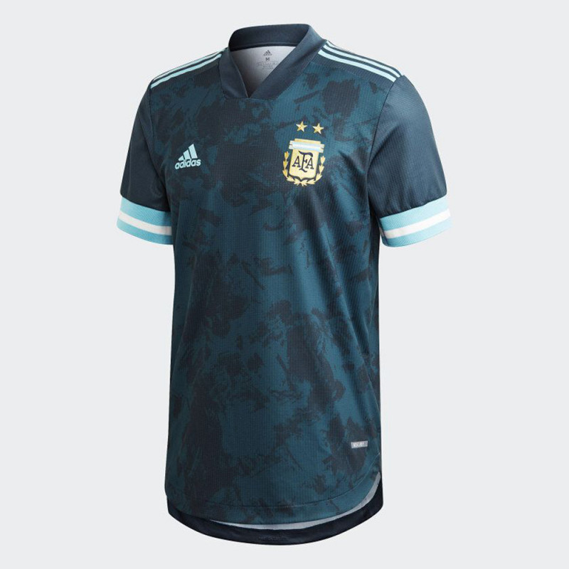 Adidas Argentina Away Authentic Mens Soccer Jersey- 2020
