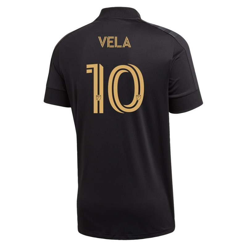 adidas VELA #10 LAFC 2020 Home Mens Jersey