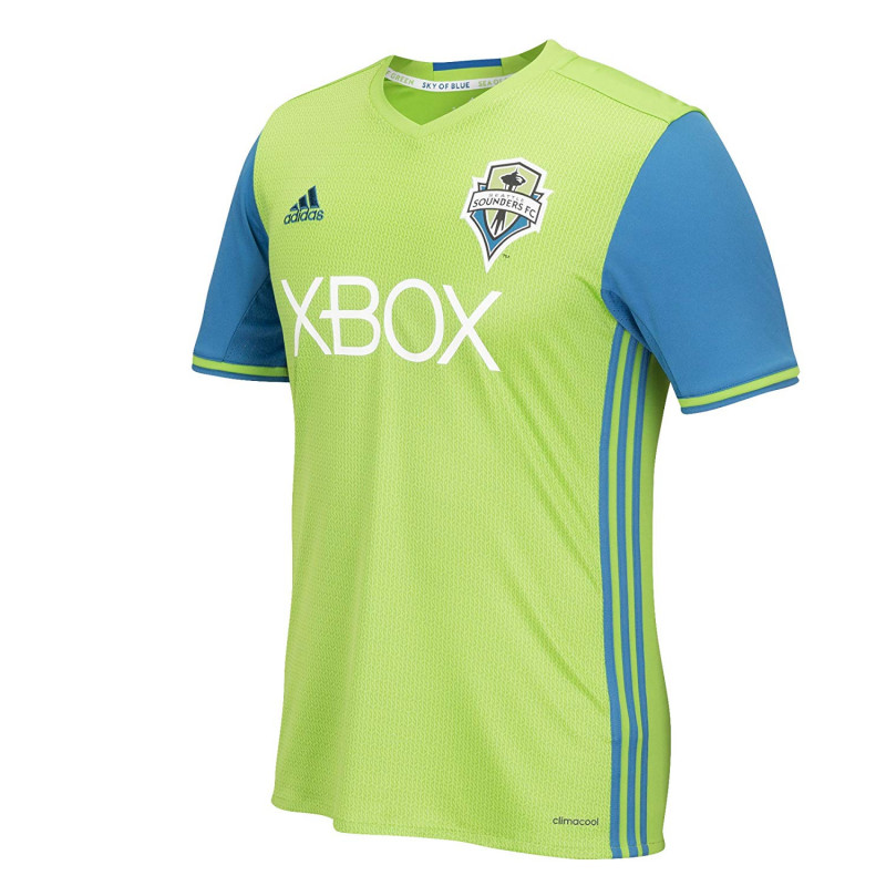 adidas MLS Seattle Sounders FC Boys Replica Short Sleeve Team Jersey- (2017/18)