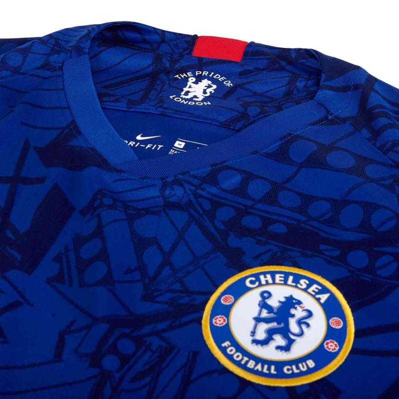 premium selection cf7d3 3d8e7 Marcos Alonso #3 Nike Chelsea FC 2019/20 Stadium Home Men's ...