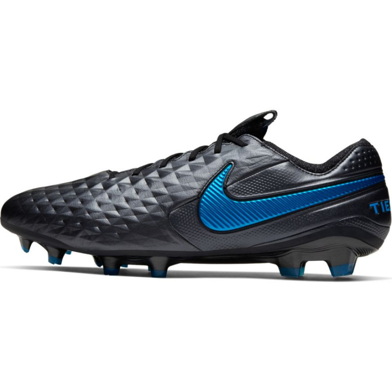 Nike Tiempo Legend 8 Elite FG-Black/Hero Blue