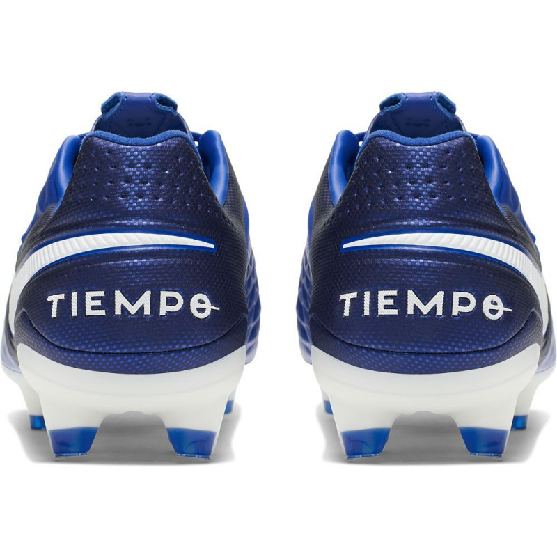 Nike Tiempo Legend 8 Pro FG Soccer Cleats- Royal Blue/White