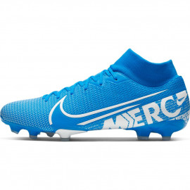 Nike Mercurial Superfly 7 Academy MG Soccer Cleats- Blue/White