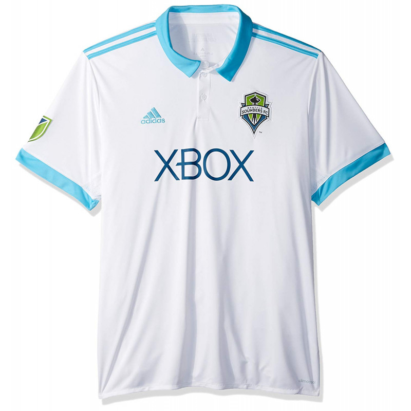 adidas Seattle Sounders FC Away Mens Soccer Jersey- 2017/18