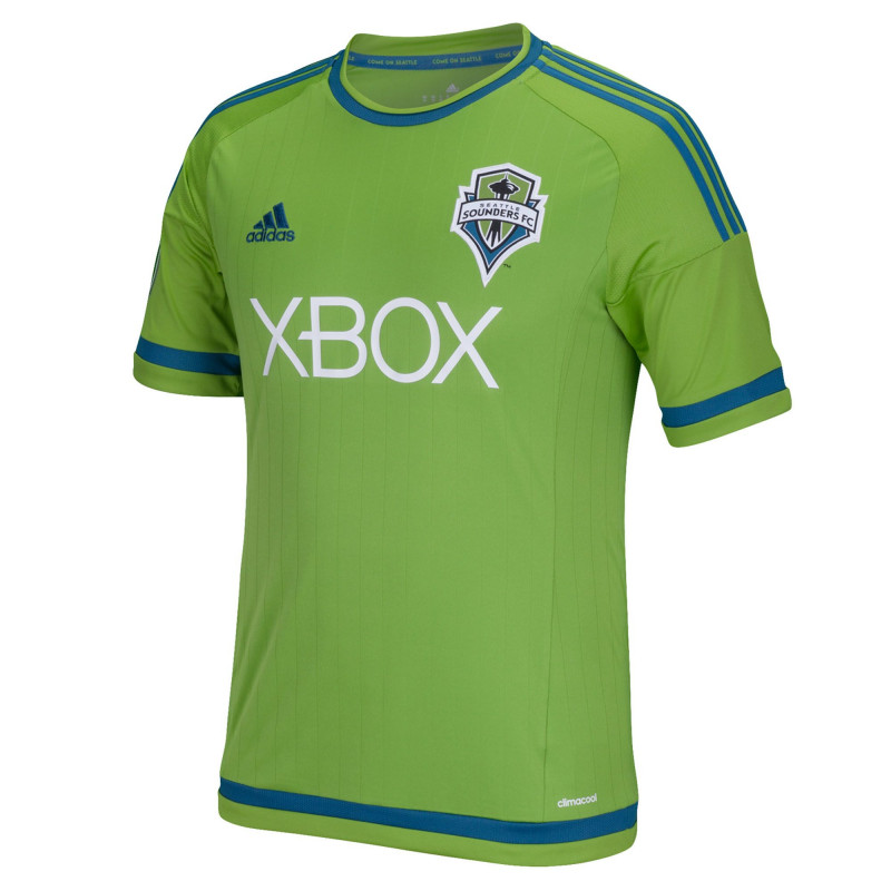 adidas Seattle Sounders FC Home Jersey- 2015/16