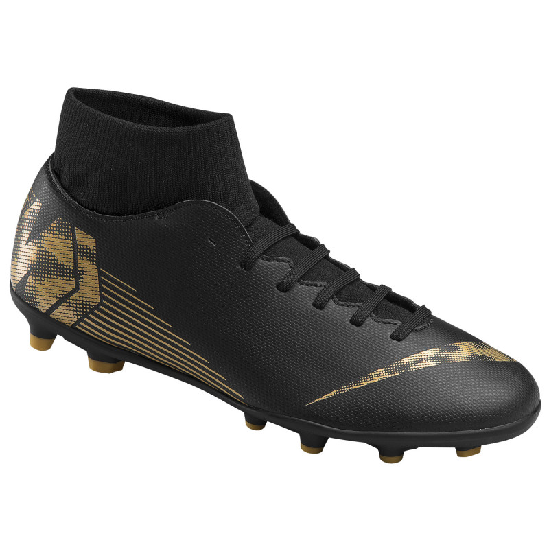 lowest price 107f9 bc7bd Nike Men's Superfly 6 Club MG Soccer Cleats (Black/Gold)